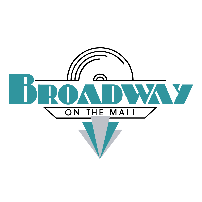 Broadway On The Mall vector