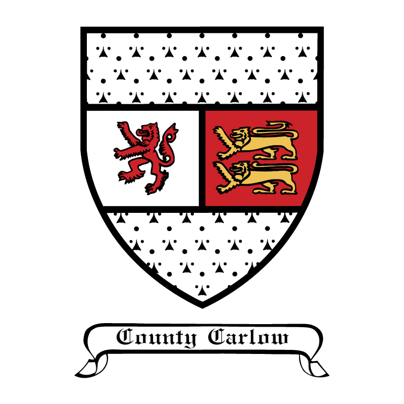 Carlow Crest vector