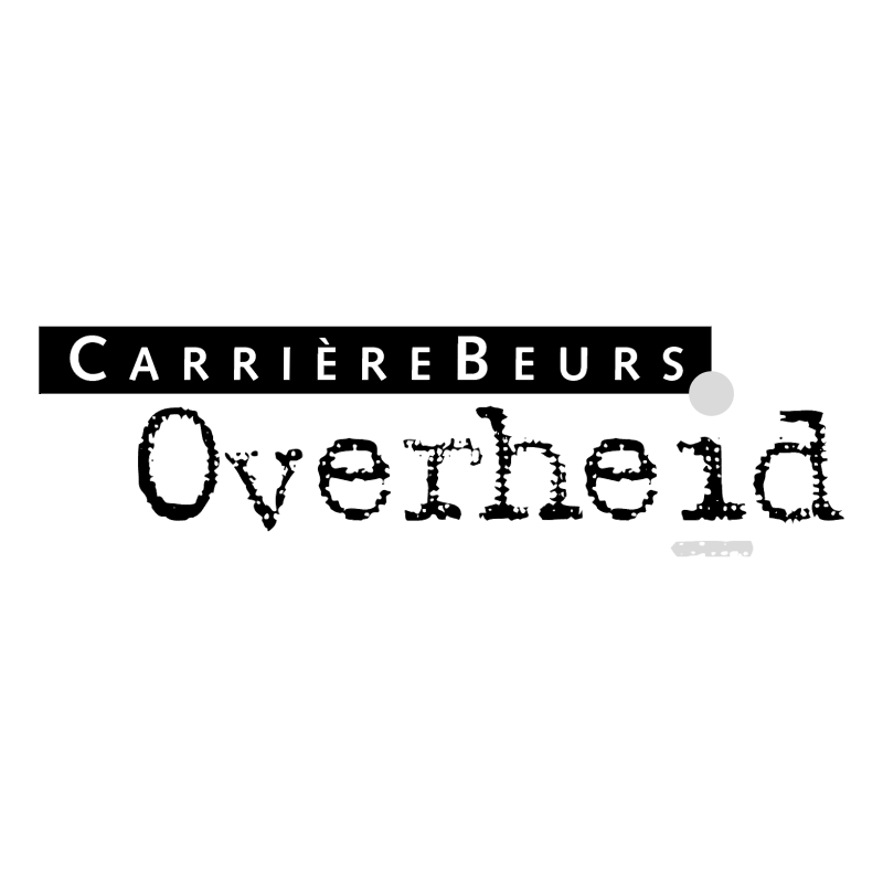 Carrierebeurs Overheid vector