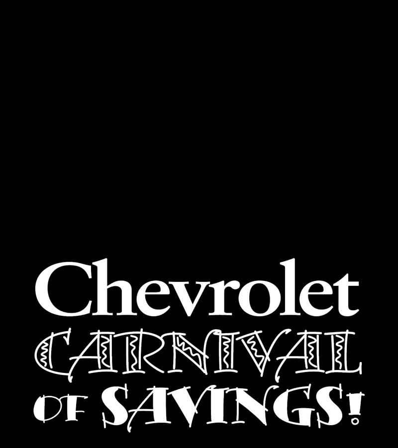 Chevrolet Carnival logo vector