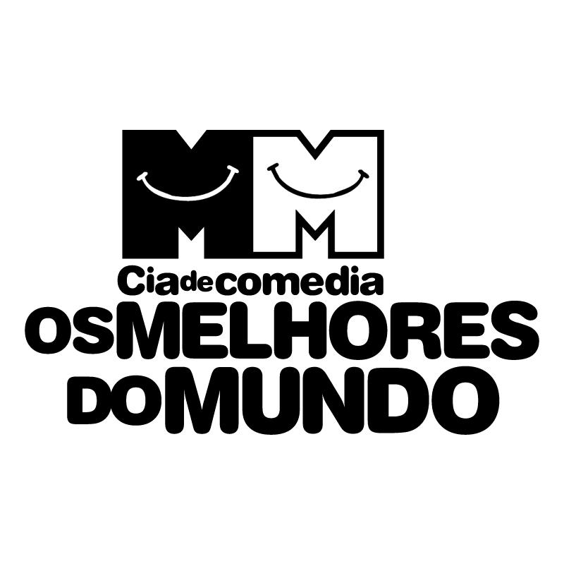 Cia de comedia OS MELHORES DO MUNDO vector