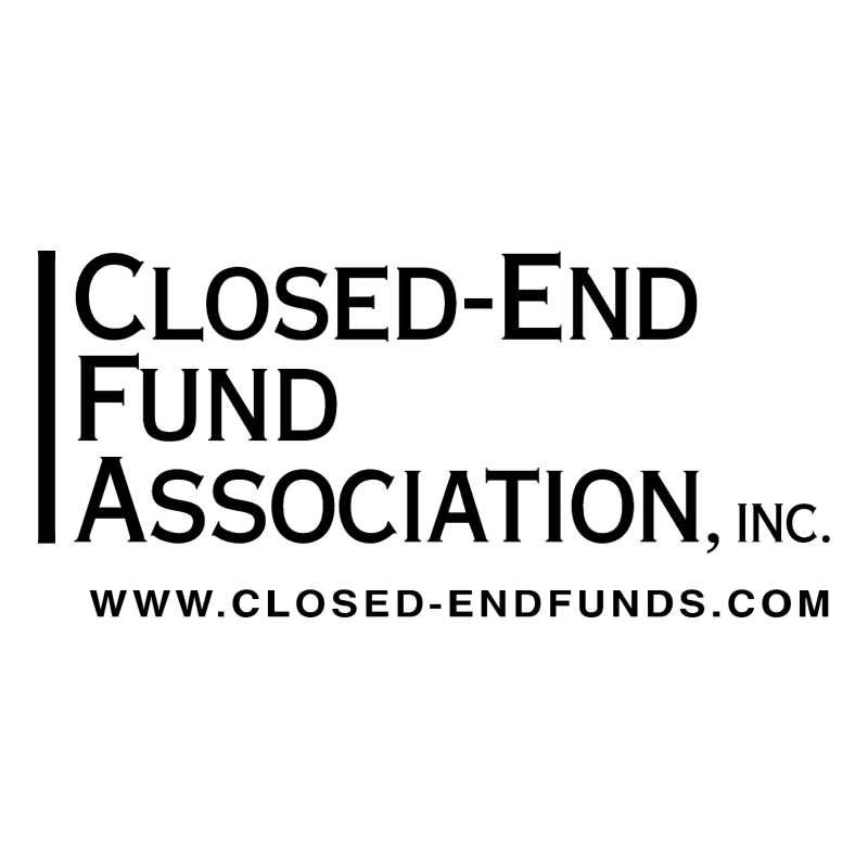 Closed End Fund Association vector