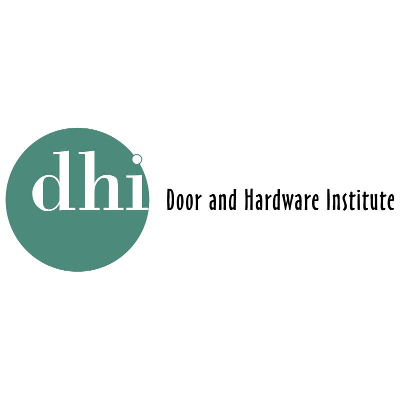 DHI vector logo