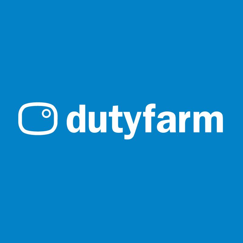 dutyfarm new media vector logo