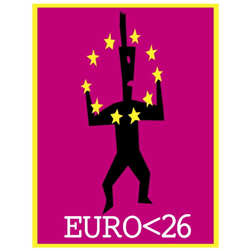 EURO26 vector logo