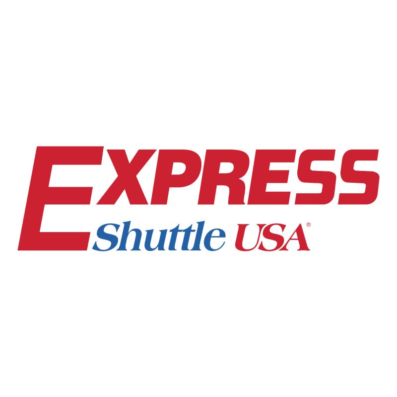 Express Shuttle USA vector
