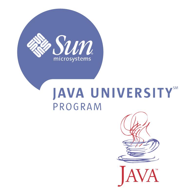 Java University Program vector