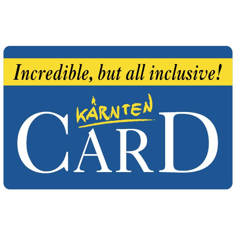 Karnten Card vector logo