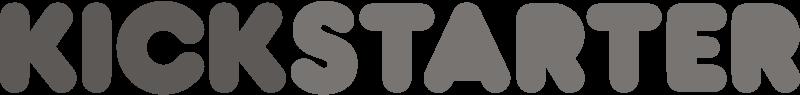Kickstarter grey vector