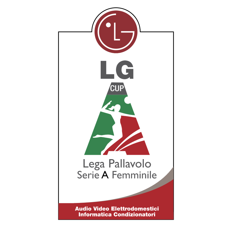 Lega Volley Femminile vector