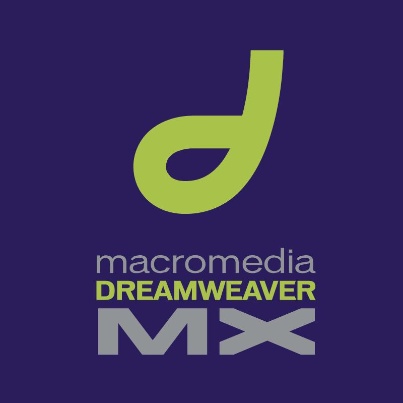 Macromedia Dreamweaver MX vector
