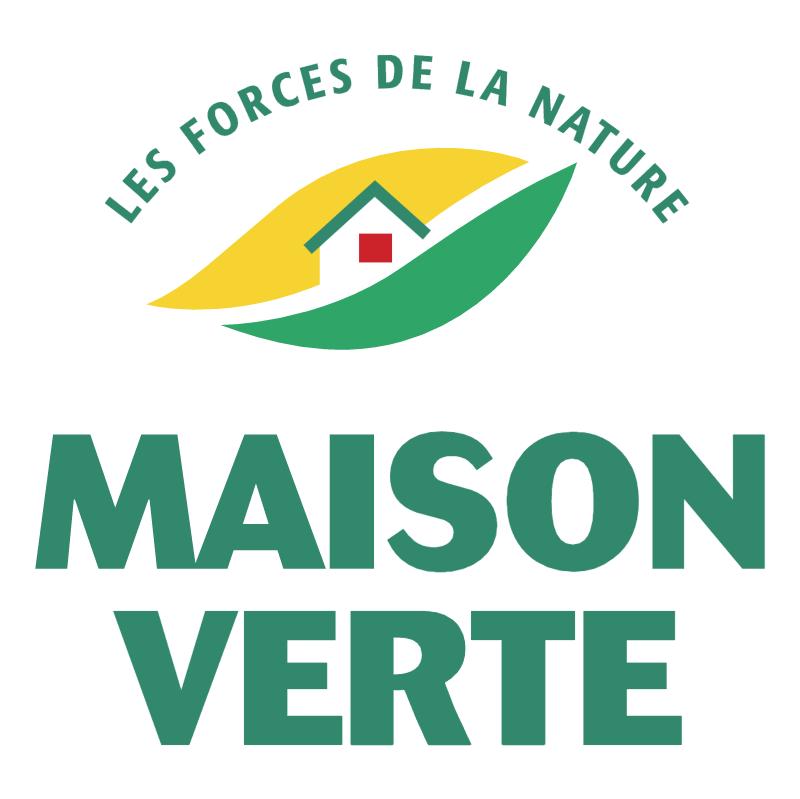 Maison Verte vector