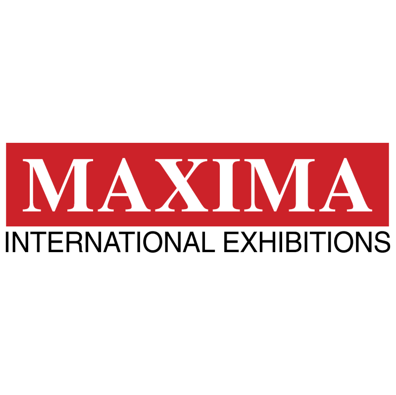 Maxima International Exhibitions vector