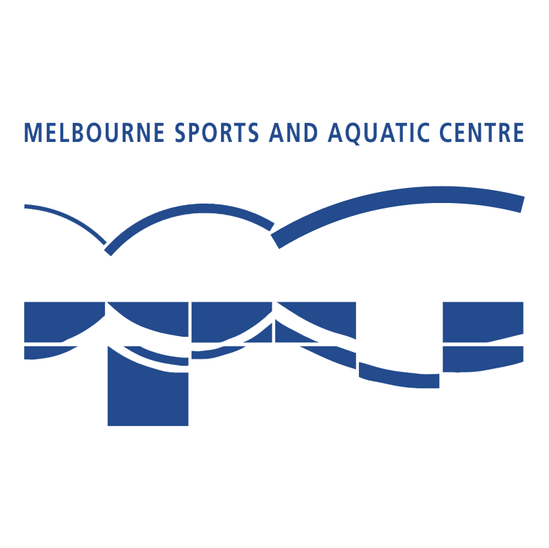 Melbourne Sports and Aquatic Centre vector logo