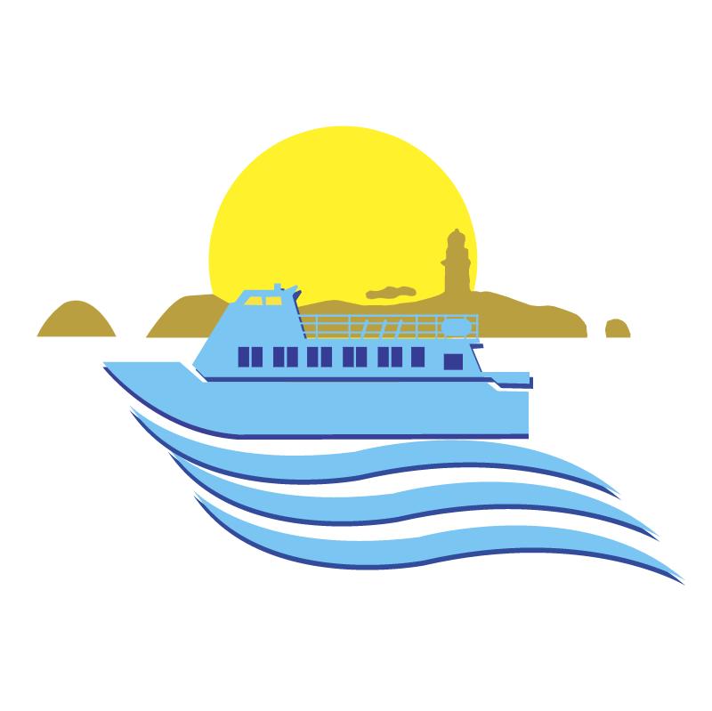 Naviera Illa de Ons vector