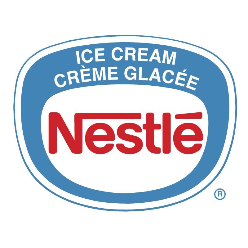 Nestle Ice Cream vector