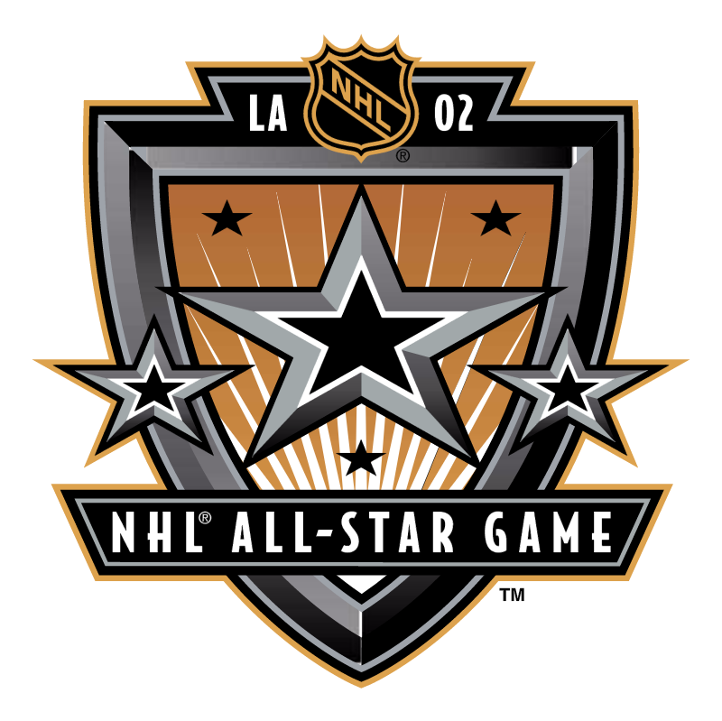 NHL All Star Game 2002 vector