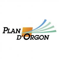 Plan d'Orgon vector