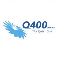 Q400 Dash 8 vector