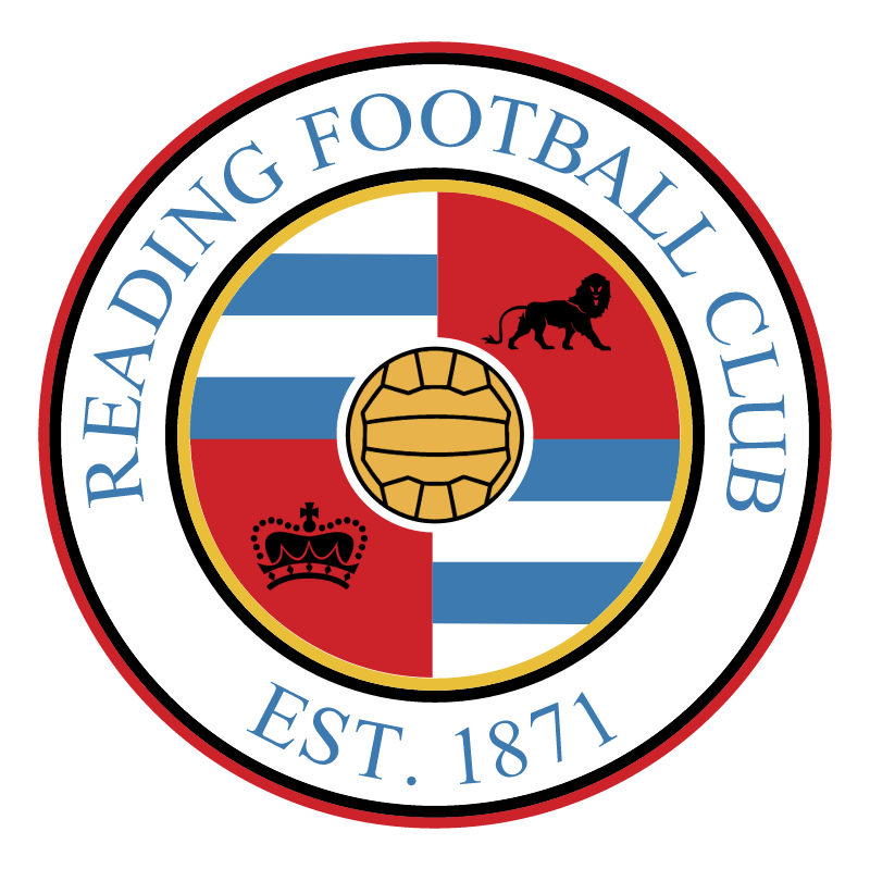 Reading Football Club vector logo