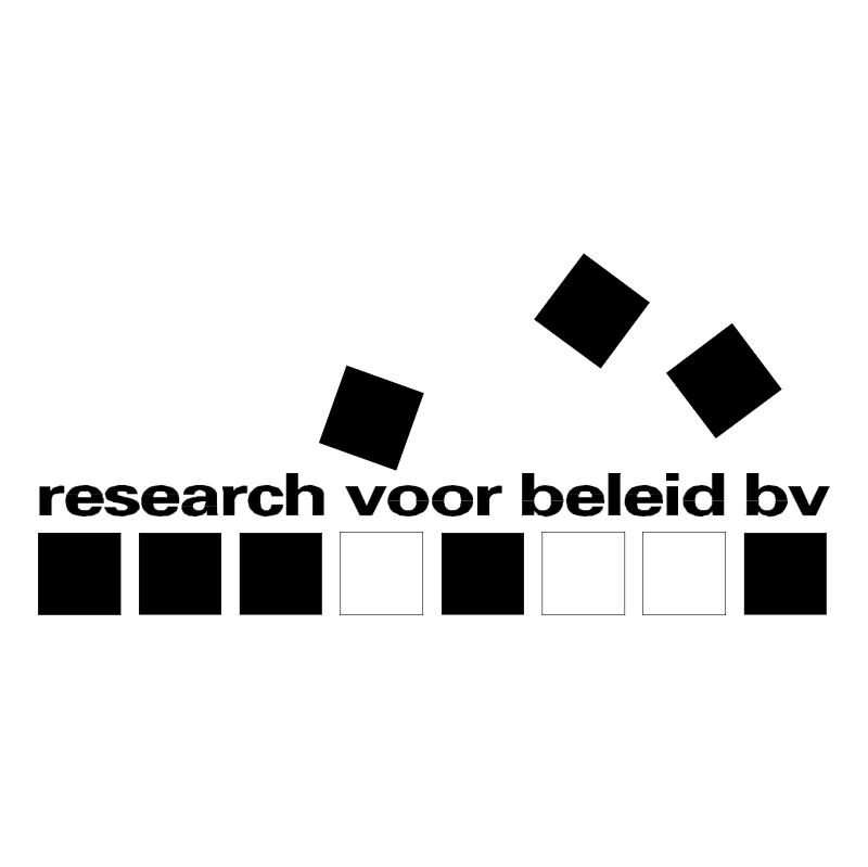 Research voor Beleid BV vector