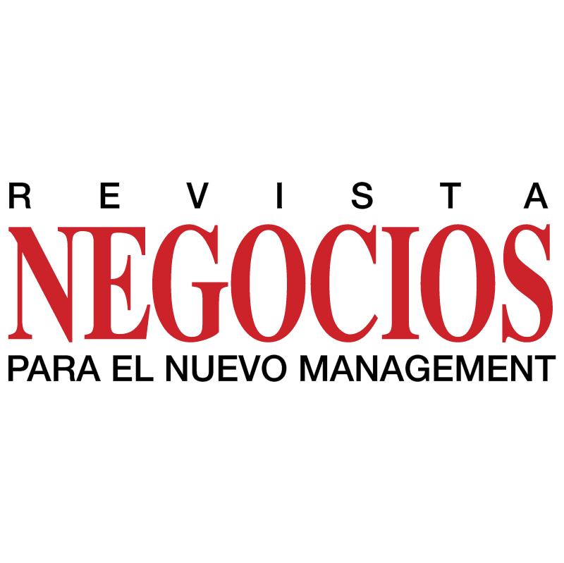Revista Negocios vector