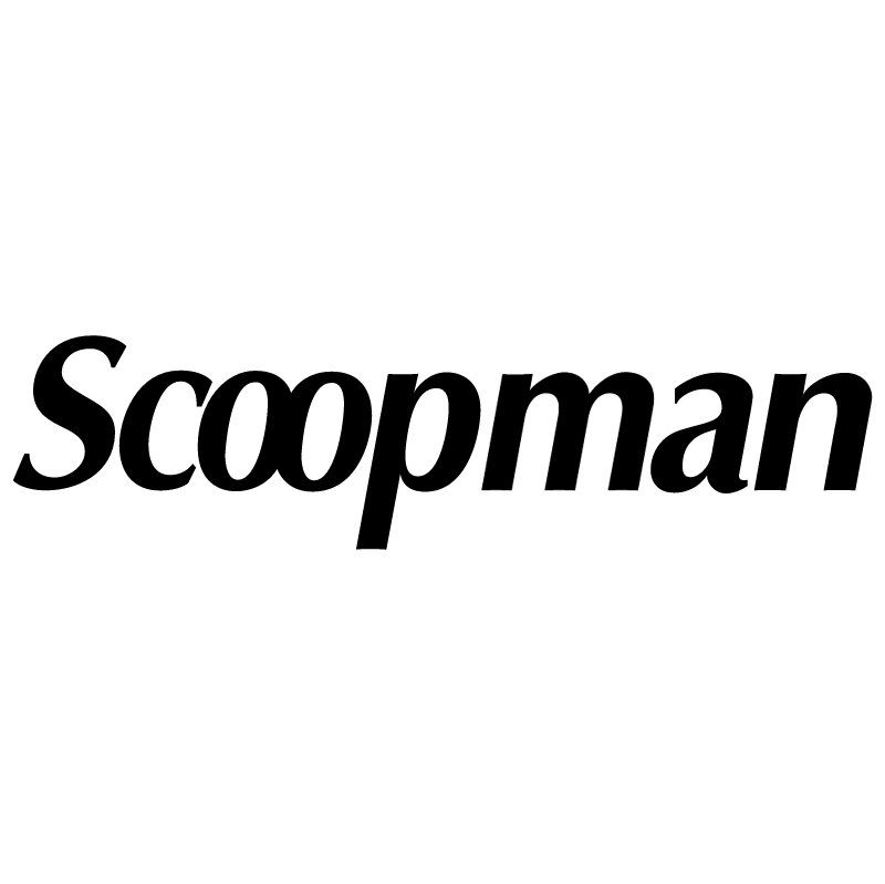 Scoopman vector