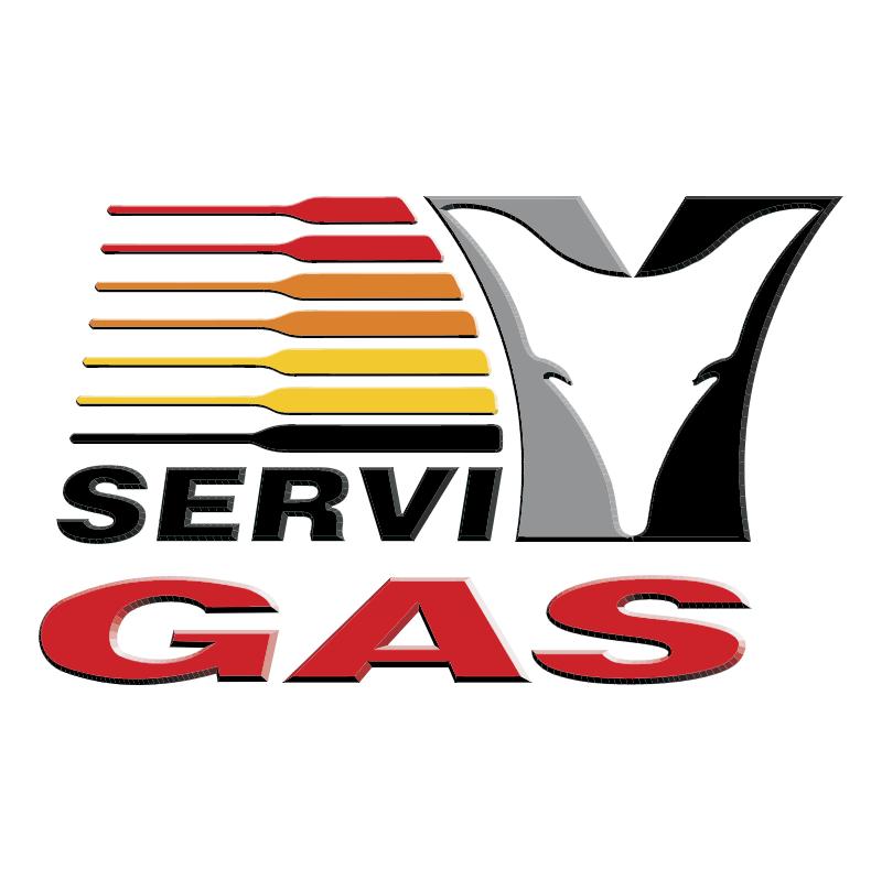 Servi Gas vector