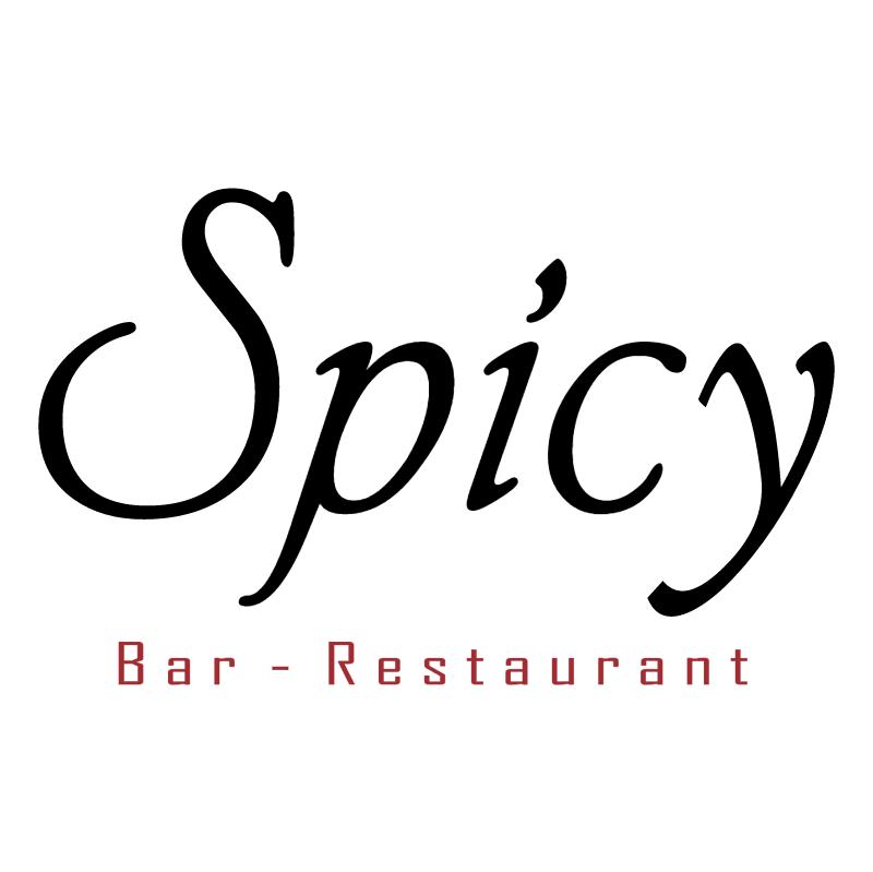 Spicy Bar Restaurant vector