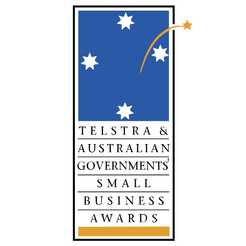 The Telstra & Australian Governments' Small Business Awards vector