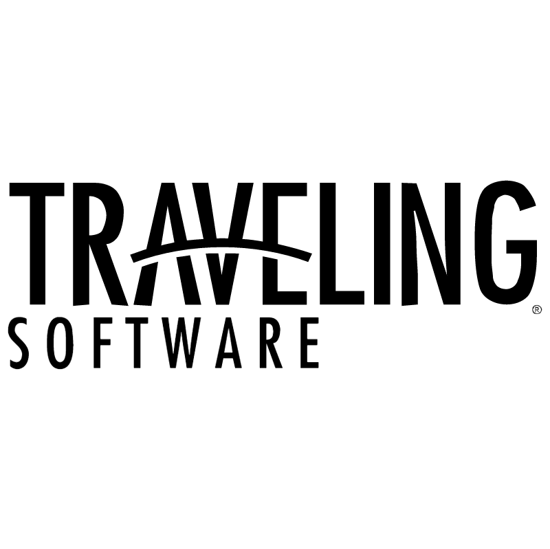 Traveling Software vector