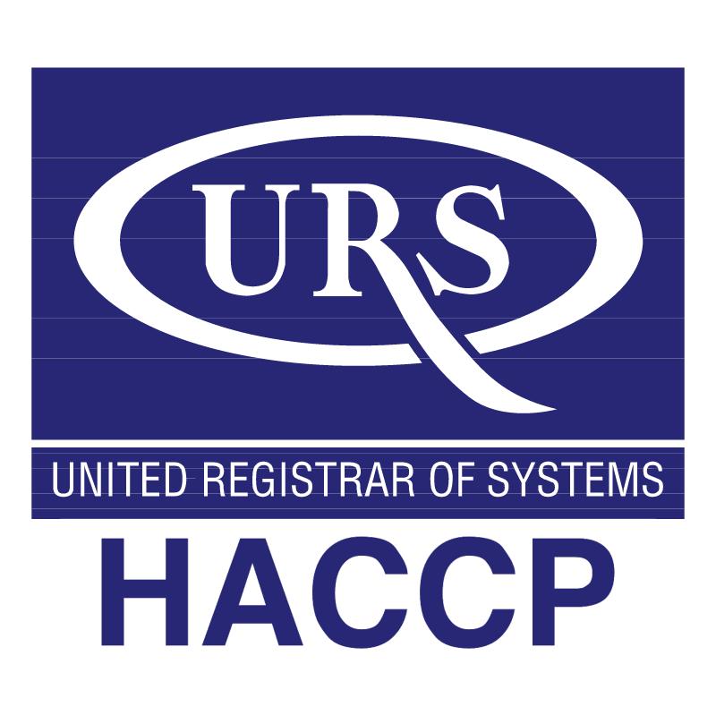 URS HACCP vector
