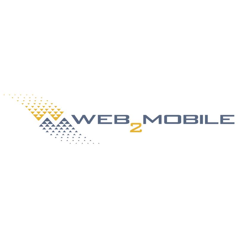 Web 2 Mobile vector