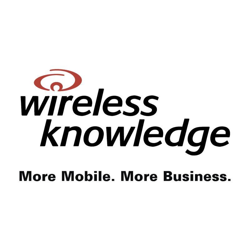 Wireless Knowledge vector logo