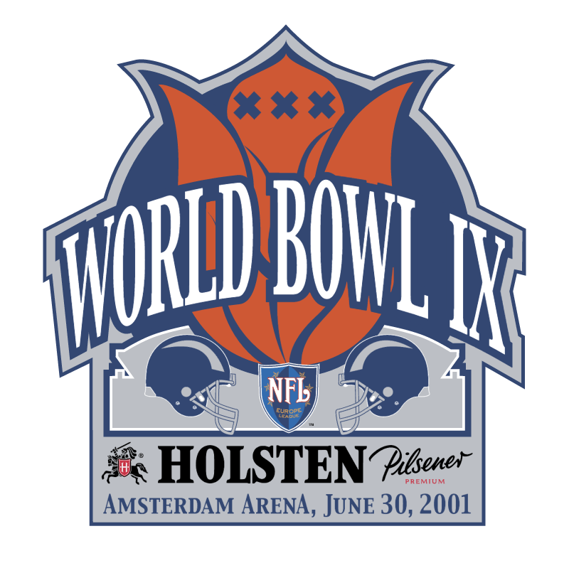 World Bowl IX vector