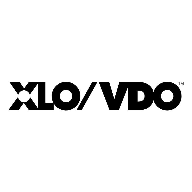 XLO VDO vector
