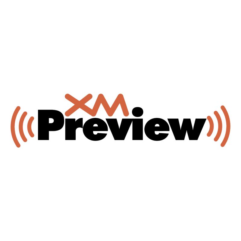 XM Preview vector logo