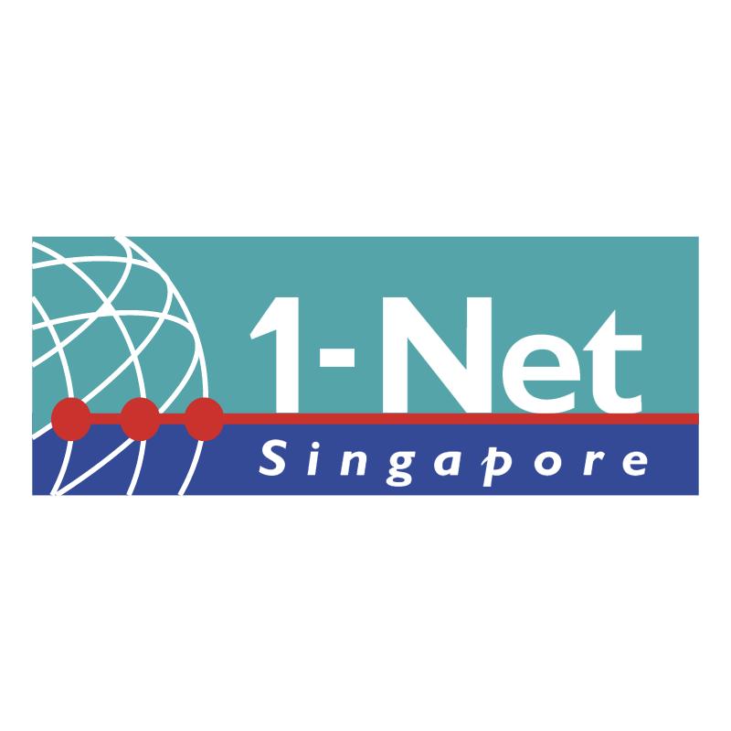 1 Net Singapore vector