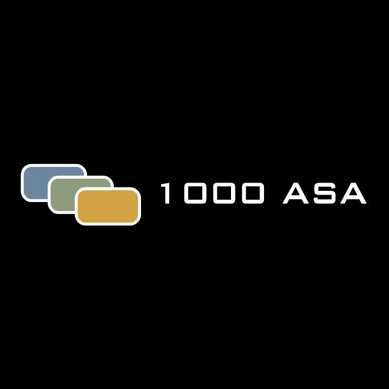 1000 ASA vector