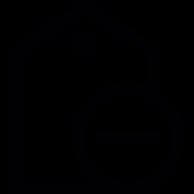 Remove Tag vector logo