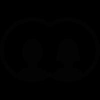 Couple avatar vector