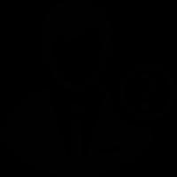 Businessman Avatar with Question Mark vector