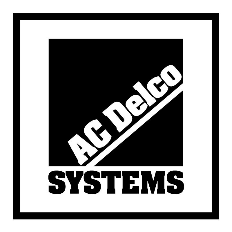 AC Delco Systems 19683 vector