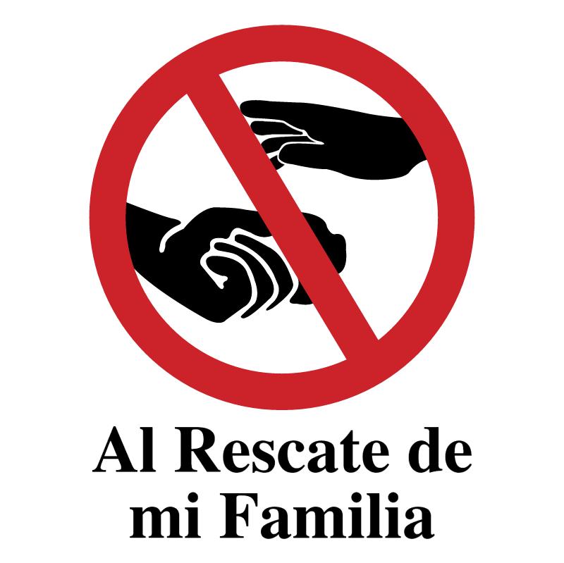 Al Rescate de mi Familia vector logo