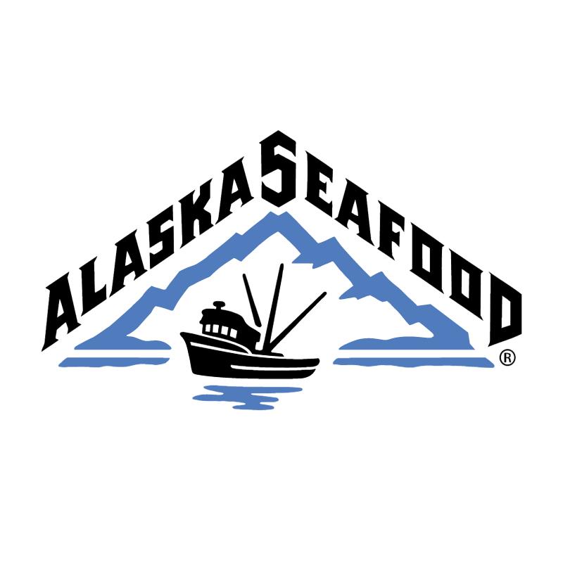 Alaska Seafood vector