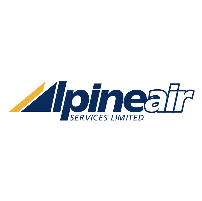AlpineAir vector logo