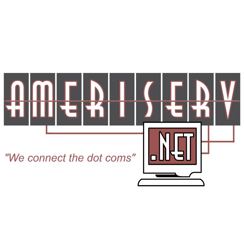 Ameriserv net vector logo