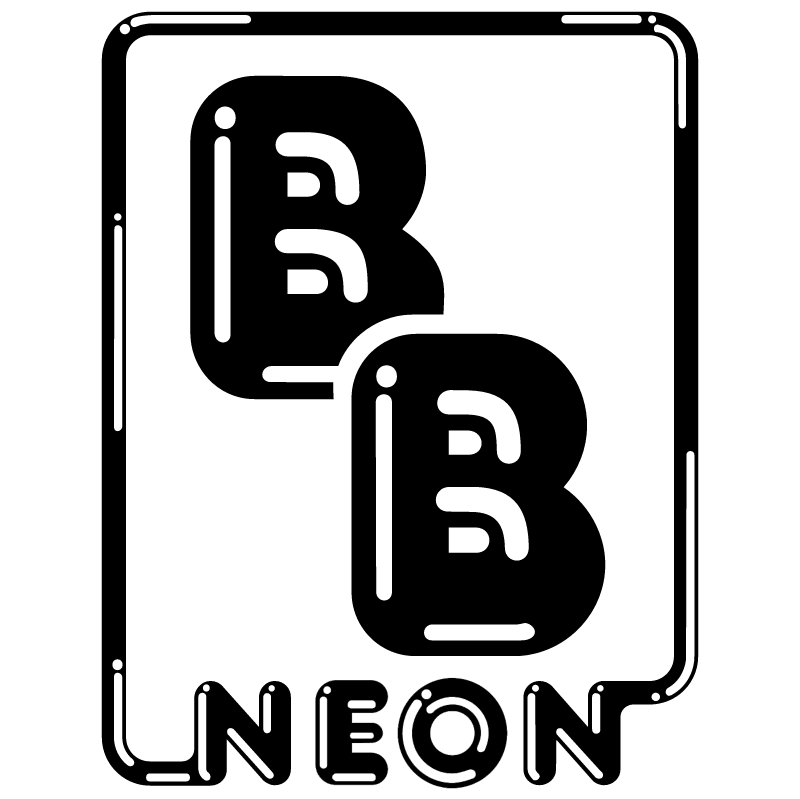 B&B Neon vector