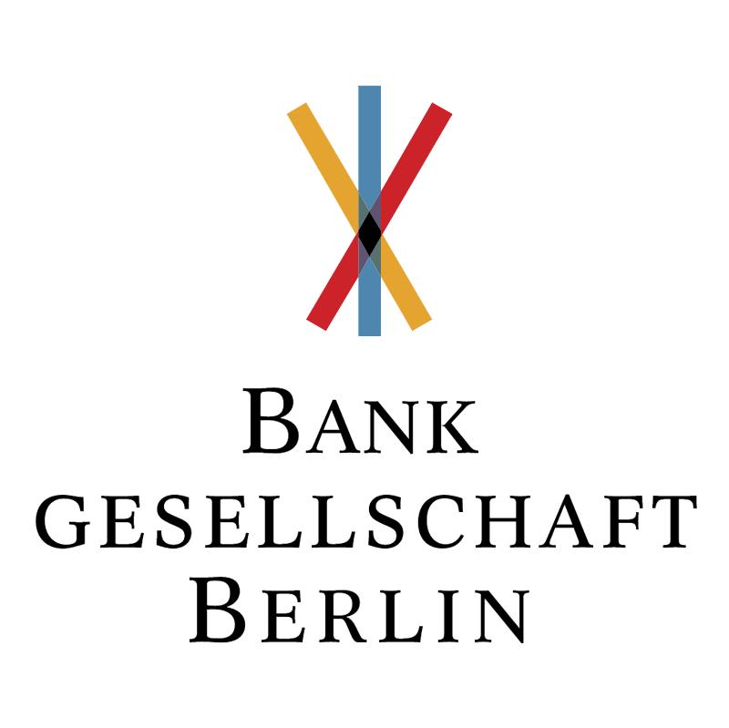 Bank Gesellschaft Berlin vector