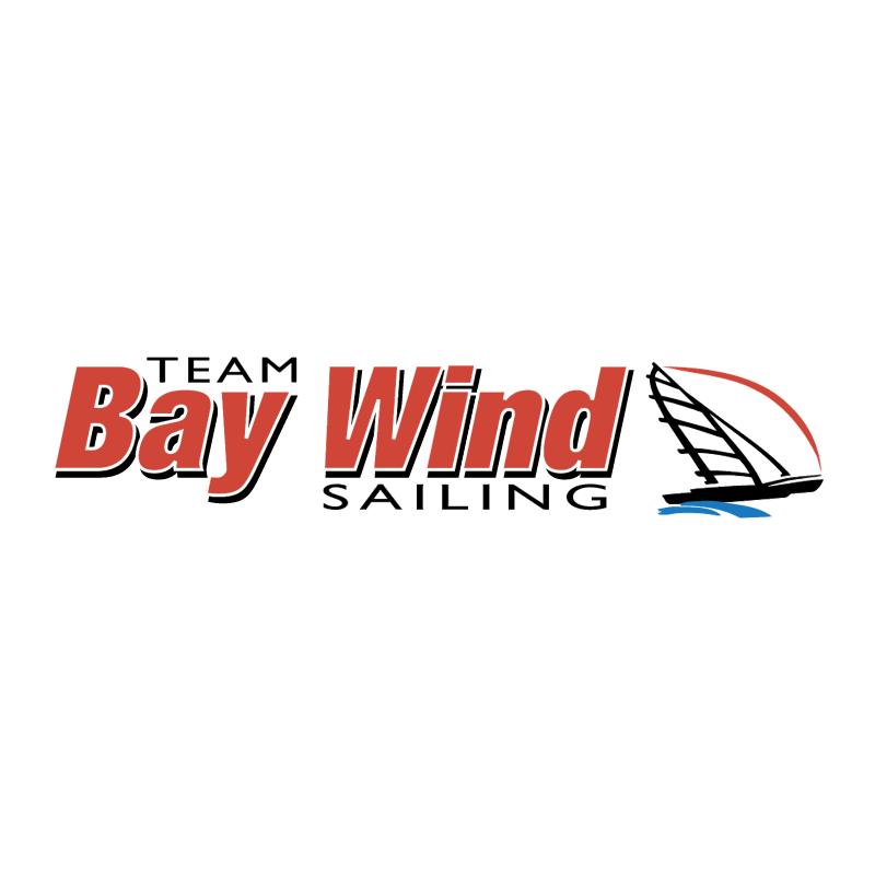 Bay Wind Sailing vector logo
